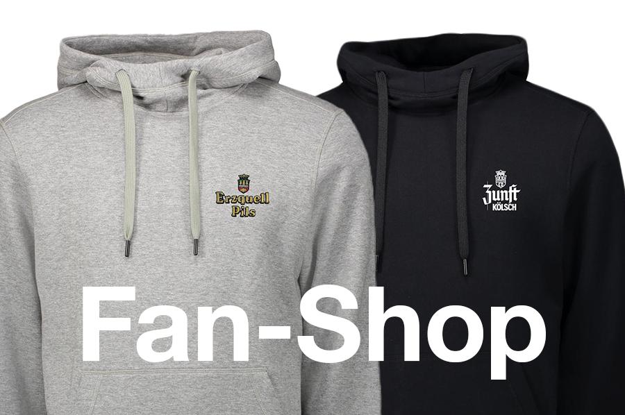 Neuer Online Fan-Shop
